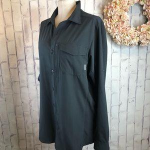 Columbia Omni-sheild Advance Repellant black shirt
